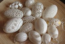 eggshell carving