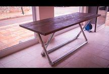 DIY Industrial Pipe Table