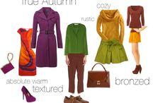 Kleuren palet lente/herfst