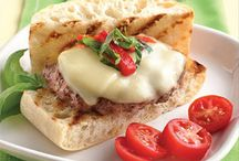 Burger Recipes / A collection of our favorite juicy burgers topped with deli cheese. Fire up the grill and get ready to prepare our favorite burger recipes. / by Land O'Lakes