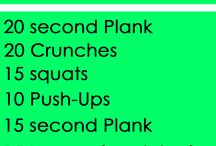 One Song Workouts / Idk how ill do these lol