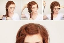 ginger hairstyle