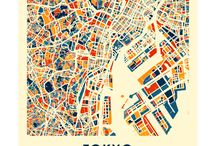 map-posters
