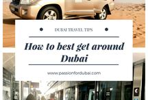 Dubai Travel / Travel Tips and Inspiration for Dubai.