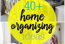 Home organizing ideas