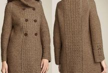 Crochet coats and jackets