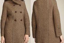 Crochet coats and jackets