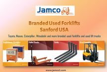 Used Forklifts / Buy branded used forklift and used lift truck and other things related to forklift such as batteries and chargers. For more info go to http://www.jamco1.com