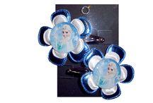 Frozen / Lieve frozen haarknipjes vanaf 2,50 tekoop in mijn webshop www.kadootjecreatief.nl