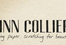 dirtying paper. / bits of winn's words