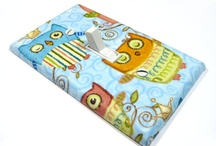 Owl Light Switch Covers by Modern Switch / Light Switch Covers featuring owls or other woodland critters. / by Modern Switch