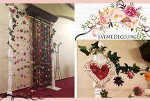 Romantic floral wedding