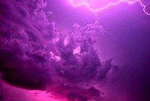 Earth and nature's beauties / Purple haze lighting
