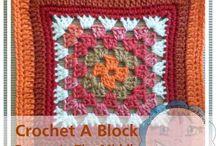 CCW - Afghan/Granny Blocks & Squares / Creative Crochet Workshop - Crochet A Block Series 2016