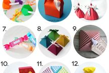 Favor boxes and bags
