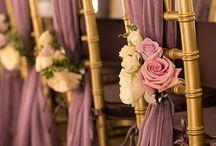Svatební hostina zidle