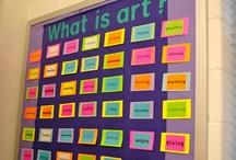 MS Art Room Ideas / by Jennifer Hurrle