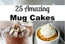 Mug cakes.