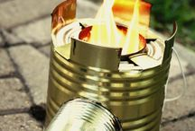 Rocket Stove and Rocket mass heater