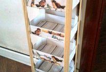 dequpage boxes