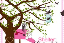 """Shelter: Postmarked / In his poem, Youth and Age, 15th century writer, Samuel Colleridge, penned these five single words, """"Friendship is a sheltering tree."""" I see a tree, branches outstretched, inviting others to find shelter from the hard of life. This sheltering encouragement is simply found in an envelope and postmarked."""