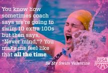 Swim Valentines  / Be my Swim Valentine?