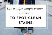 Cleaning Tips etc