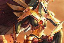 Hawkgirl/Hawkwoman
