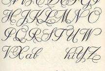 Handlettering / Letters