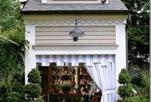 Garden shed / by Stephanie Brooks