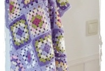 Crochet - granny square ideas