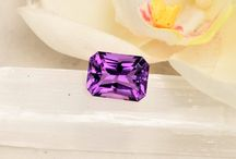 February Birthstone | Unique Amethyst Gemstones / These classic Gemstones are colored to perfection.  Create your own unique engagement ring, fashion piece, or any type of jewelry.