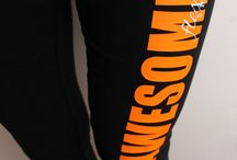 I'm Awesome work out leggings