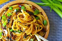 Stir Fries, Asian, Noodles