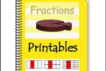 Fraction Printables {CCSS Aligned} / Fraction Printables. FUN Fraction Practice! Give your students or child FUN fraction practice with these Fraction printables!