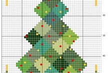 christmas - cross stiching
