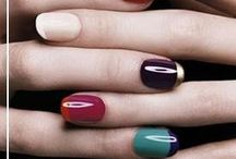 Hands & beauty ideas. / Feel free to express color & style