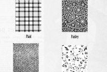 About fabrics and patterns