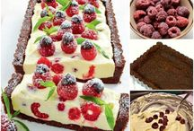Delicious foods and sweets