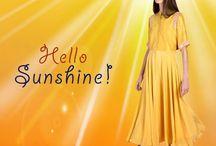 Designer Yellow Gowns