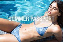 SUMMER   PASSPORT / San Lorenzo Bikinis Summer 2016 Collection, Summer Passport