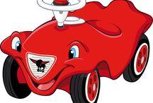 BIG-BOBBY-CAR / HIer findet Ihr alles Rund um den roten Flitzer und tolle Geschenkideen für Kinder!