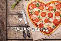 - Traditional Italian Dishes -