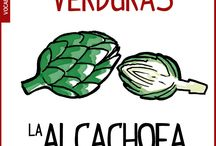 Las verduras en español, vocabulario español