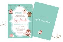 Easter Designs / Easter Card/Invitation Design by LM Design  www.lmdesign.co www.facebook.com/lmdesignsc