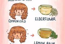 :) teas and