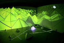 projection mapping and LEDs