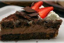 recepty - sladké - dorty čokoládové
