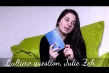 Lectures passionées / Des livres que j'ai lu, mes nouvelles vidéos sur ma chaine de littératures !