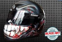 Helmets & motorcycle accesories